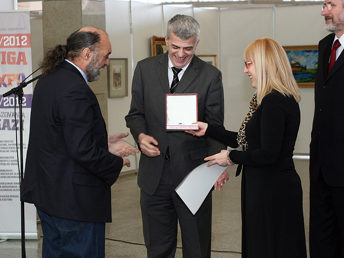 2012. ZVONIMIR SANTRAČ – dobitnik nagrade SAVA ŠUMANOVIĆ