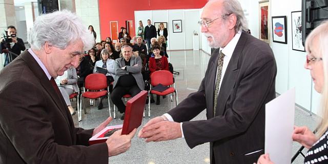 2015. ČEDOMIR VASIĆ – dobitnik nagrade SAVA ŠUMANOVIĆ