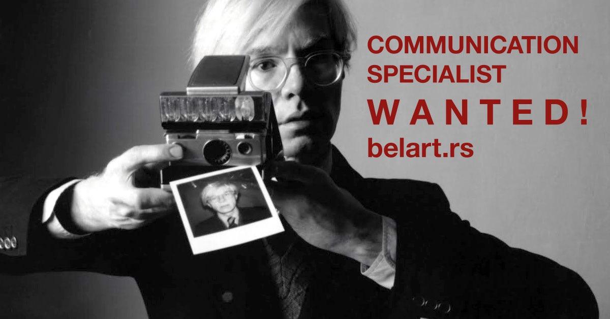 Tražimo saradnika na poziciji Specijalista za komunikacije