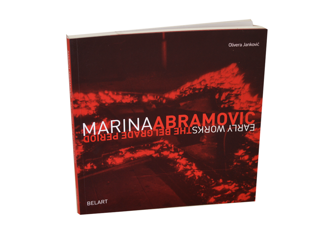 Marina Abramović, Early works-the Belgrade period
